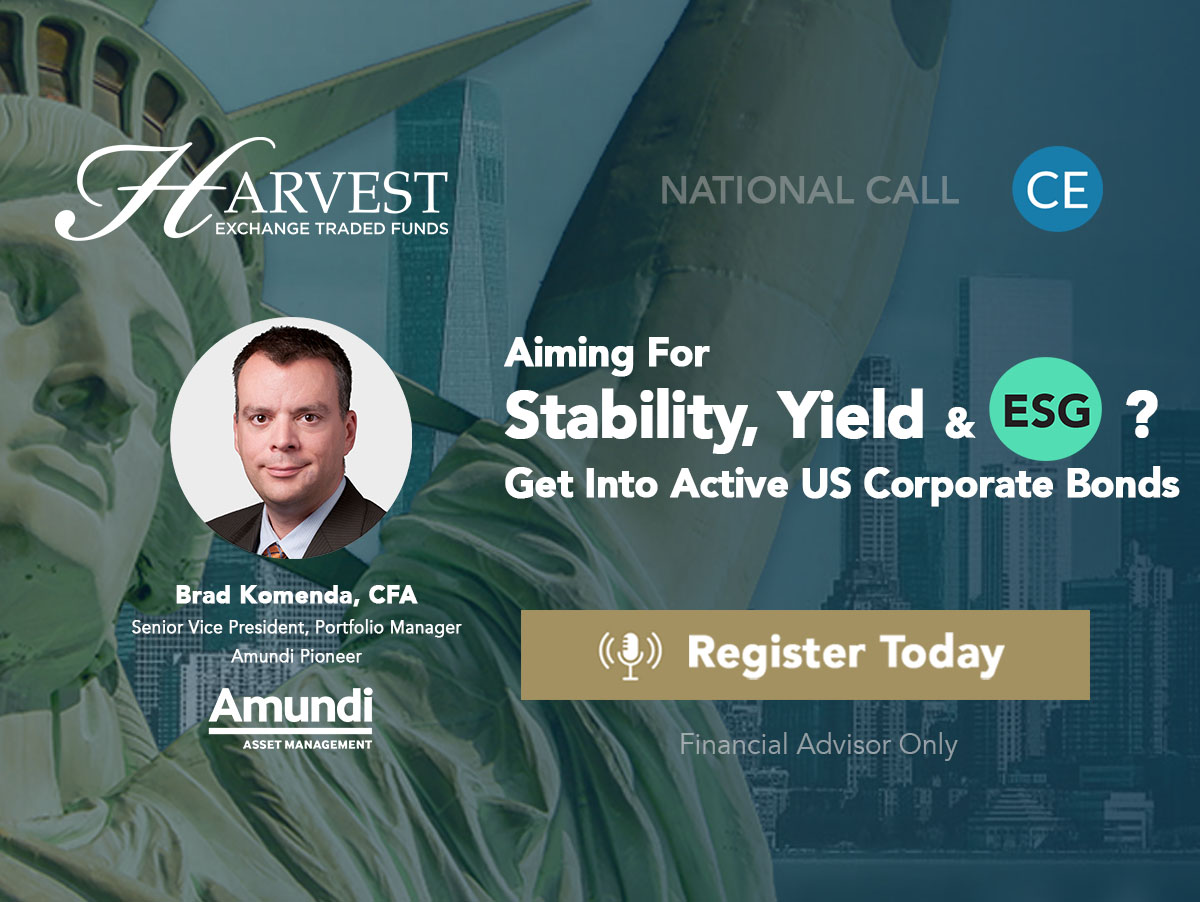 Aiming For Stability, Yield & ESG ? Get Into Active US Corporate Bonds