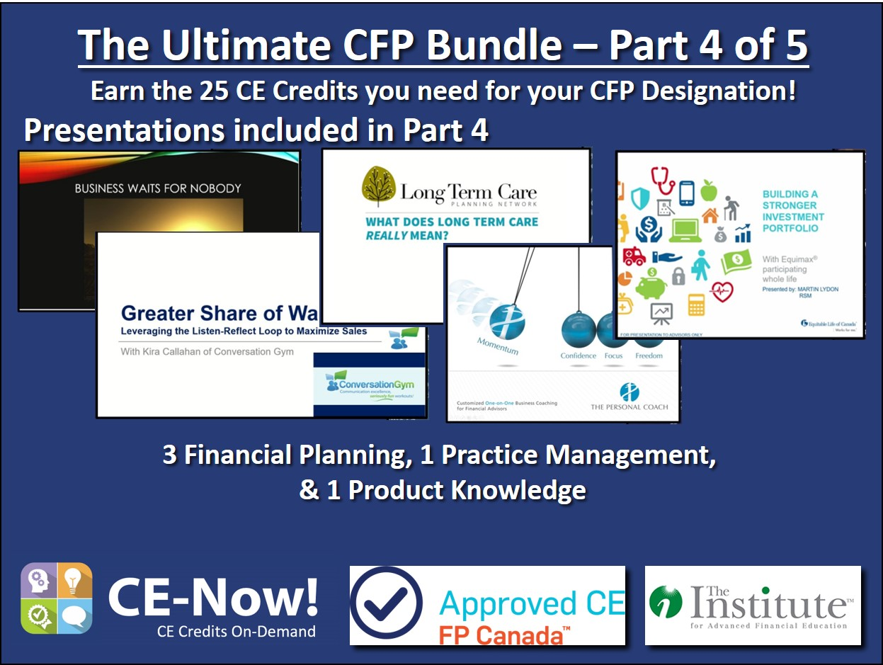 The Ultimate CFP Bundle - Part 4 of 5